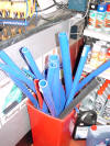 Straight Hose, 4mm to 76mm, Blue, Red, Black, etc